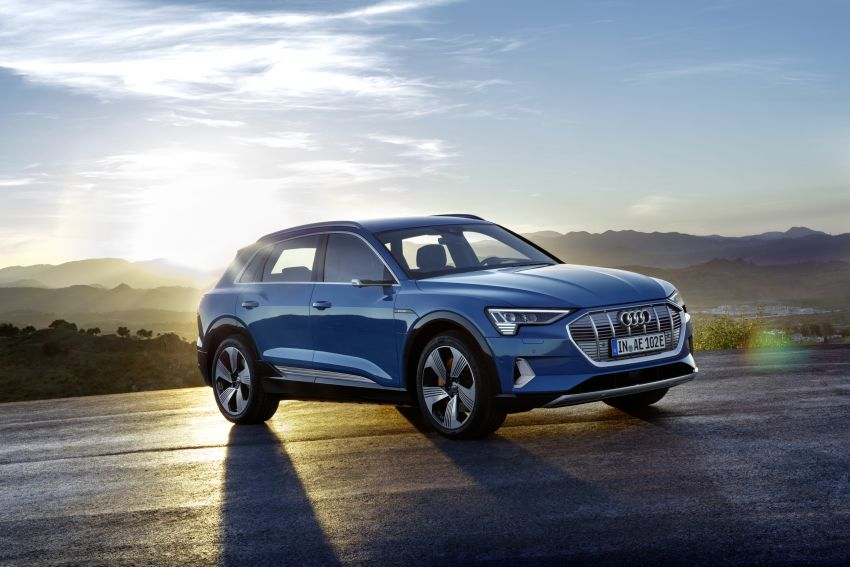 Audi e-tron celebrates global debut in San Francisco – brand's first series production, all-electric SUV Image #861772