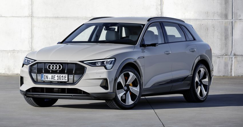 Audi e-tron celebrates global debut in San Francisco – brand's first series production, all-electric SUV Image #861775