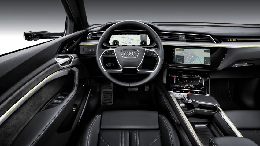 Audi e-tron celebrates global debut in San Francisco – brand's first series production, all-electric SUV Image #861776