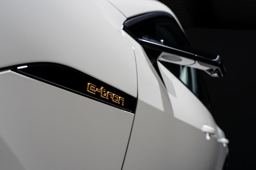 Audi e-tron celebrates global debut in San Francisco – brand's first series production, all-electric SUV Image #861756