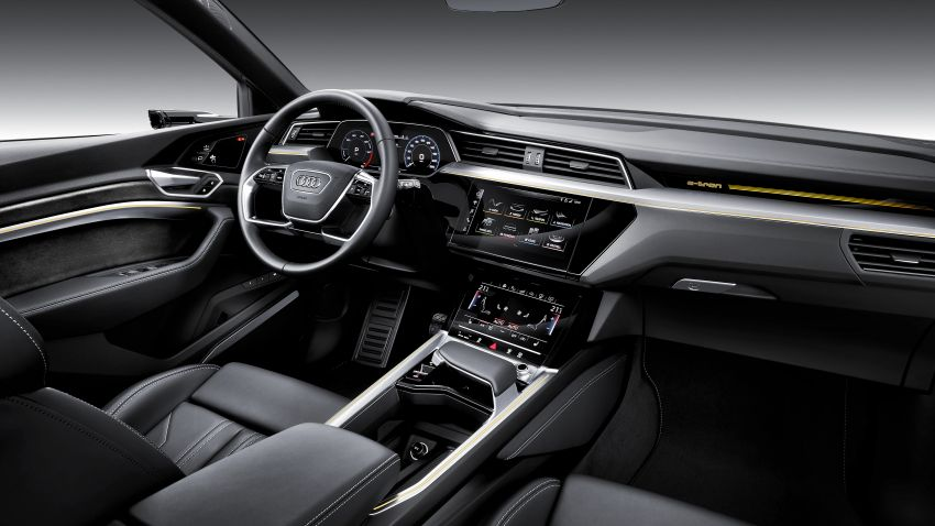 Audi e-tron celebrates global debut in San Francisco – brand's first series production, all-electric SUV Image #861777