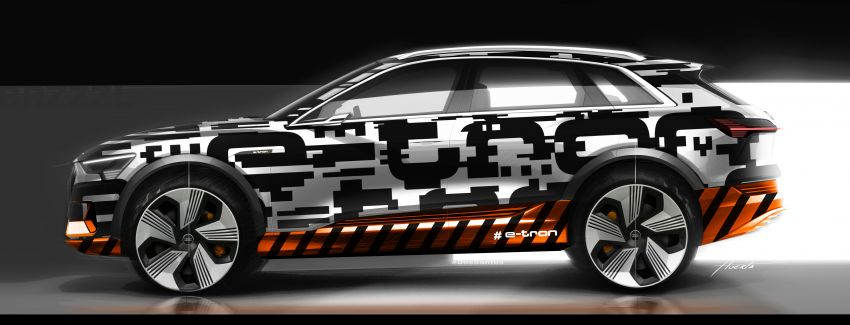 Audi e-tron celebrates global debut in San Francisco – brand's first series production, all-electric SUV Image #861786