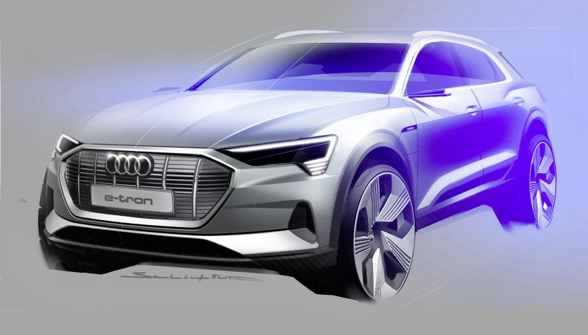 Audi e-tron celebrates global debut in San Francisco – brand's first series production, all-electric SUV Image #861787