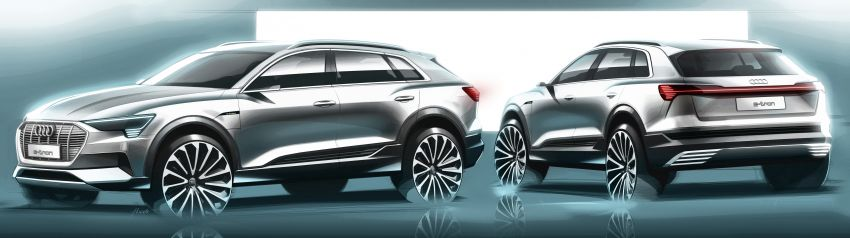 Audi e-tron celebrates global debut in San Francisco – brand's first series production, all-electric SUV Image #861788