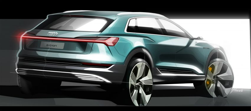 Audi e-tron celebrates global debut in San Francisco – brand's first series production, all-electric SUV Image #861789