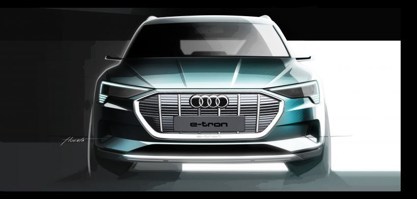 Audi e-tron celebrates global debut in San Francisco – brand's first series production, all-electric SUV Image #861791