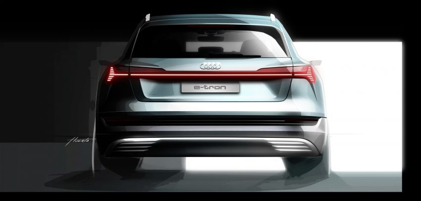 Audi e-tron celebrates global debut in San Francisco – brand's first series production, all-electric SUV Image #861792