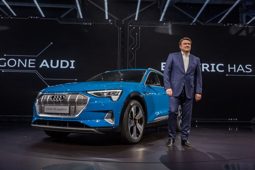 Audi e-tron celebrates global debut in San Francisco – brand's first series production, all-electric SUV Image #862139