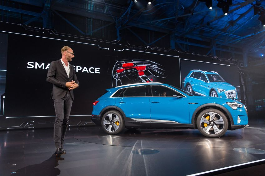 Audi e-tron celebrates global debut in San Francisco – brand's first series production, all-electric SUV Image #862141