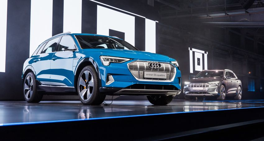 Audi e-tron celebrates global debut in San Francisco – brand's first series production, all-electric SUV Image #862143