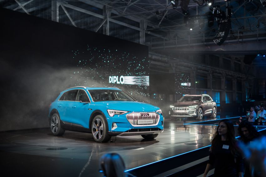 Audi e-tron celebrates global debut in San Francisco – brand's first series production, all-electric SUV Image #862148