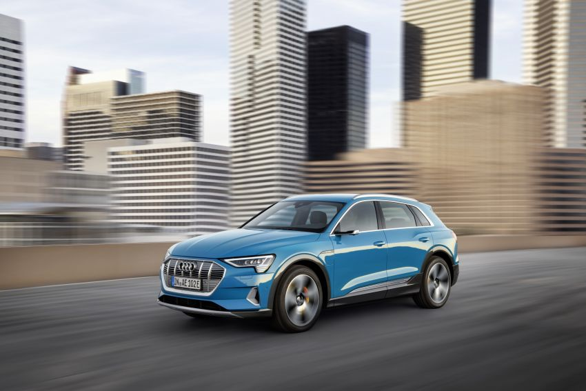 Audi e-tron celebrates global debut in San Francisco – brand's first series production, all-electric SUV Image #861760