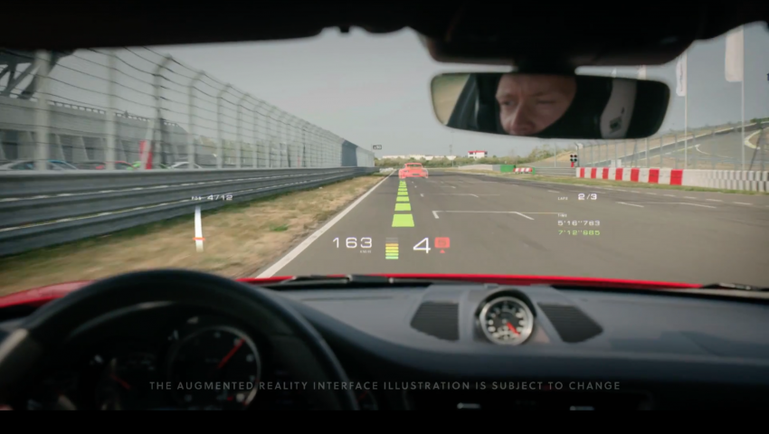 Porsche invests in augmented reality tech for HUDs Image #863183