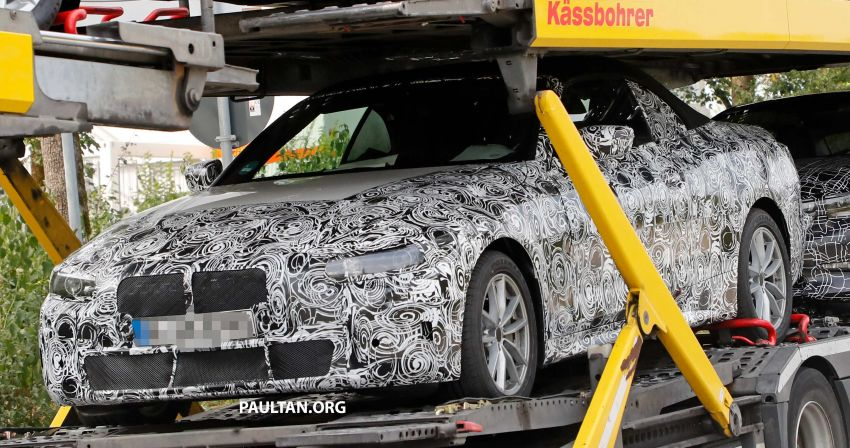 SPIED: BMW 4 Series convertible goes back to soft-top Image #858692
