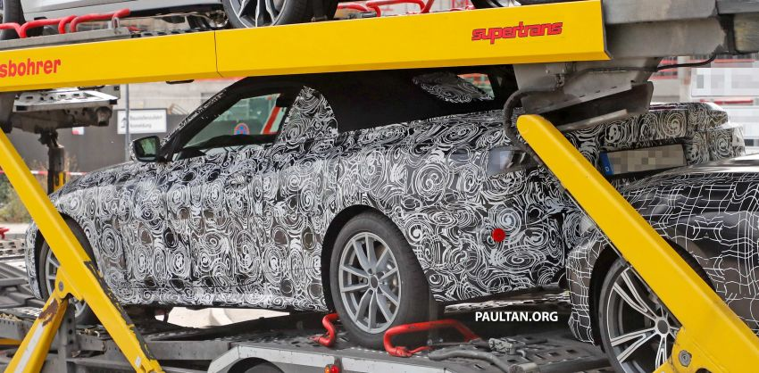 SPIED: BMW 4 Series convertible goes back to soft-top Image #858701