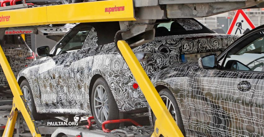 SPIED: BMW 4 Series convertible goes back to soft-top Image #858703