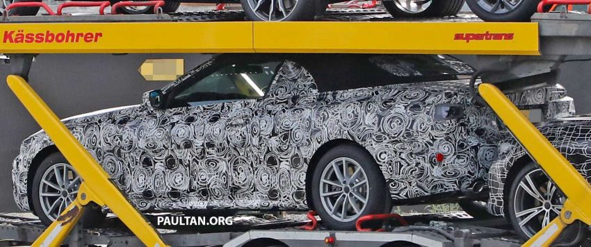 SPIED: BMW 4 Series convertible goes back to soft-top Image #858704