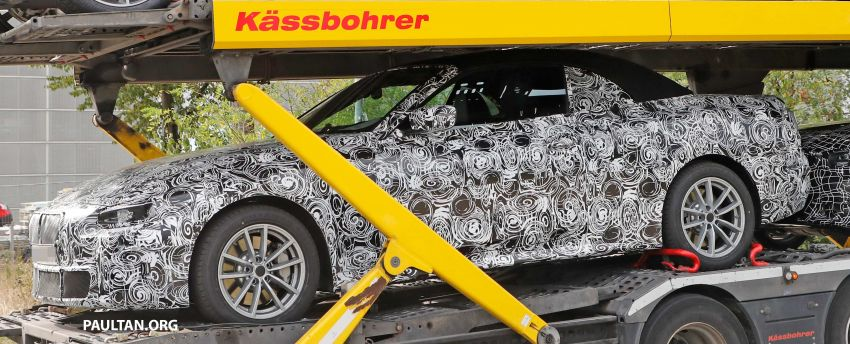 SPIED: BMW 4 Series convertible goes back to soft-top Image #858695