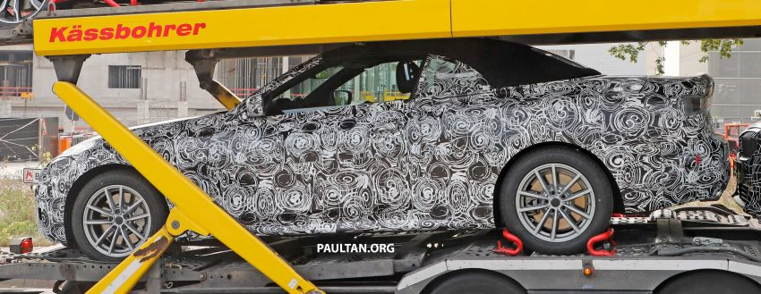 SPIED: BMW 4 Series convertible goes back to soft-top Image #858697
