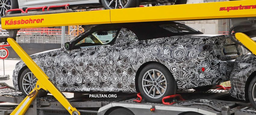 SPIED: BMW 4 Series convertible goes back to soft-top Image #858699