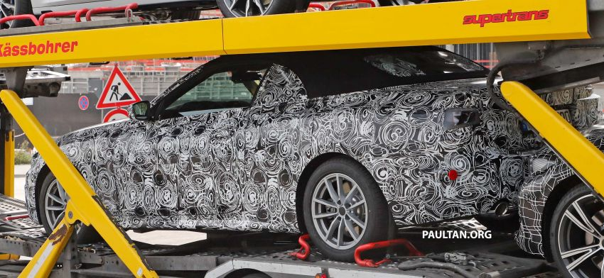 SPIED: BMW 4 Series convertible goes back to soft-top Image #858700
