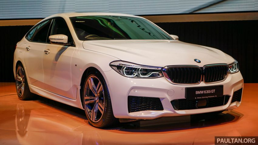 BMW 6 Series Gran Turismo launched in Malaysia – locally-assembled CKD 630i GT for RM450k est Image #858360