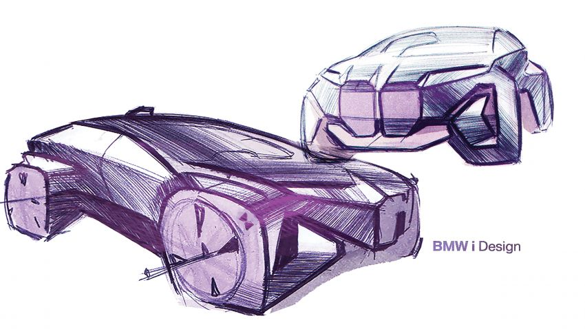 BMW Vision iNEXT previews all-electric SUV for 2021 Image #862174