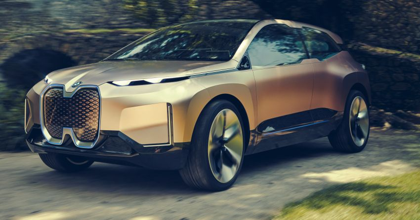 BMW Vision iNEXT previews all-electric SUV for 2021 Image #862290