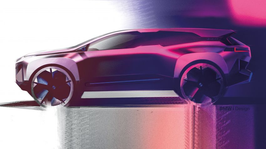 BMW Vision iNEXT previews all-electric SUV for 2021 Image #862167