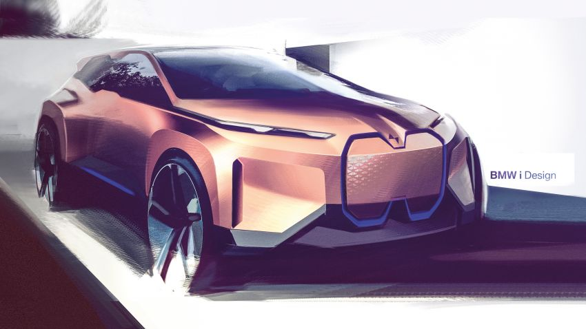 BMW Vision iNEXT previews all-electric SUV for 2021 Image #862308
