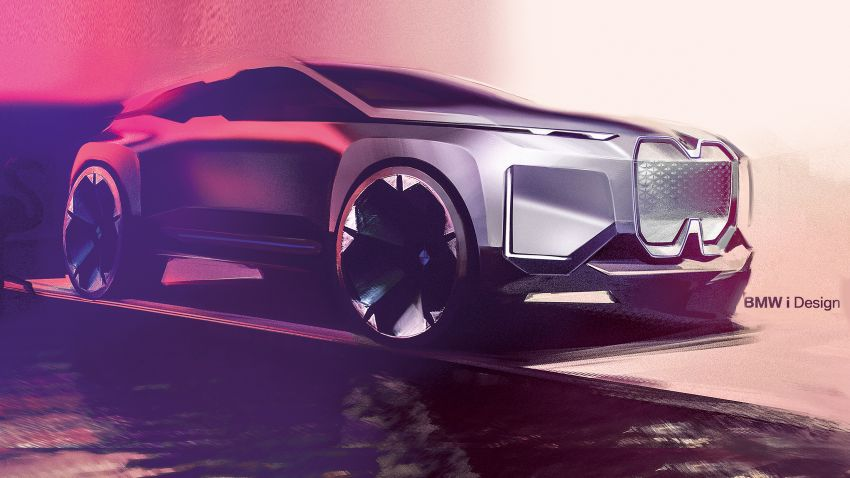 BMW Vision iNEXT previews all-electric SUV for 2021 Image #862309