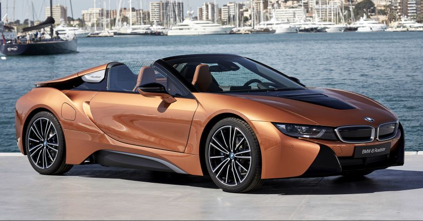 Bmw I8 Roadster Launched In Malaysia Rm1 5 Million Auto Breaking