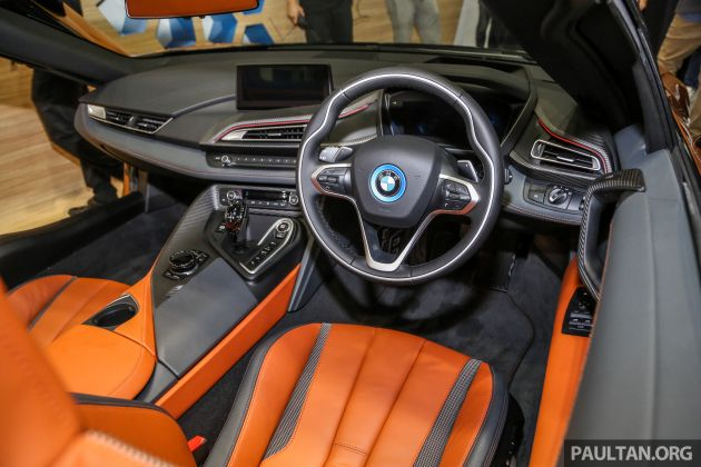 Bmw I8 Roadster Launched In Malaysia Rm1 5 Million
