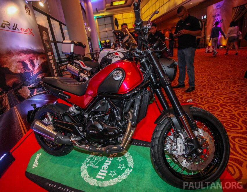 2019 Benelli Leoncino Trail scrambler, RFS150i Limited Edition <em>kapchai</em> and TRK 502X adventure previewed Image #860556