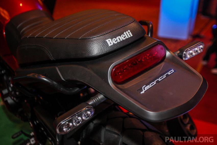 2019 Benelli Leoncino Trail scrambler, RFS150i Limited Edition <em>kapchai</em> and TRK 502X adventure previewed Image #860565
