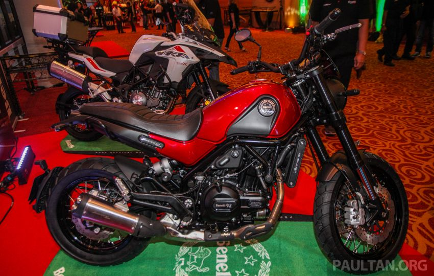 2019 Benelli Leoncino Trail scrambler, RFS150i Limited Edition <em>kapchai</em> and TRK 502X adventure previewed Image #860558