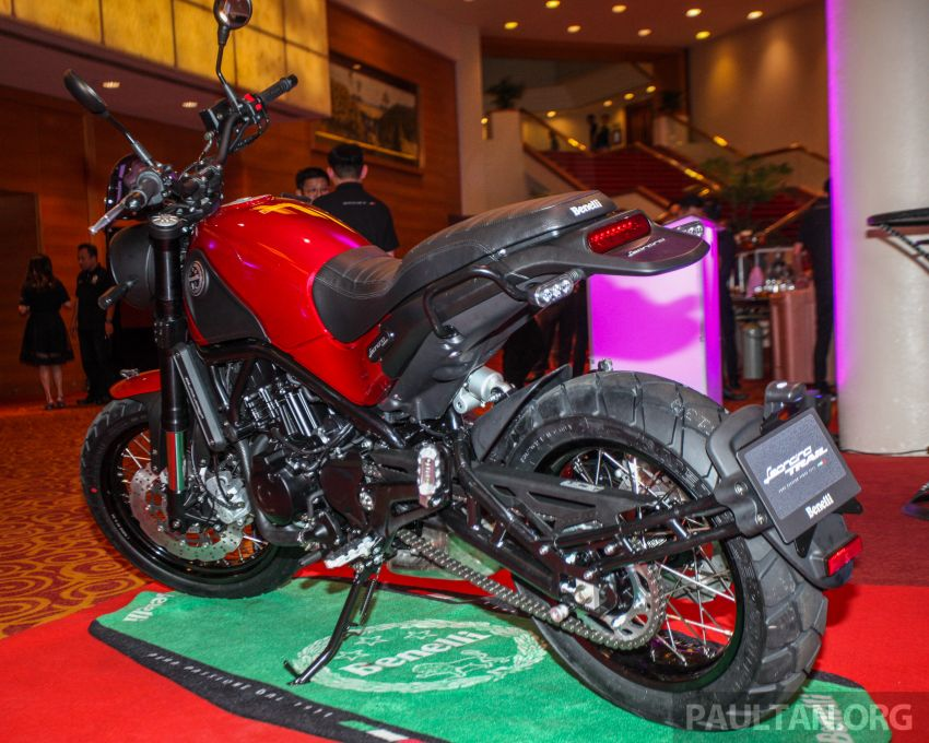 2019 Benelli Leoncino Trail scrambler, RFS150i Limited Edition <em>kapchai</em> and TRK 502X adventure previewed Image #860559