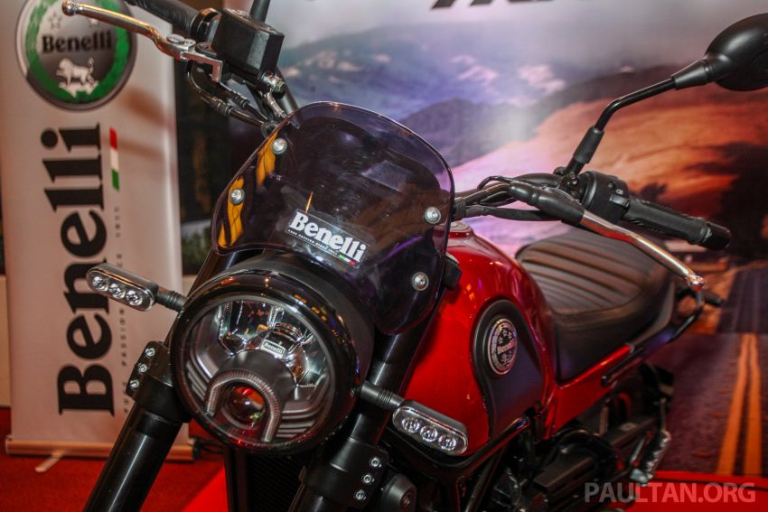 2019 Benelli Leoncino Trail scrambler, RFS150i Limited Edition <em>kapchai</em> and TRK 502X adventure previewed Image #860560