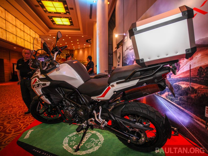 2019 Benelli Leoncino Trail scrambler, RFS150i Limited Edition <em>kapchai</em> and TRK 502X adventure previewed Image #860582