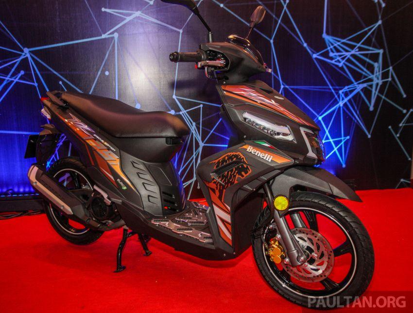 Benelli VZ125i dilancar – Malaysia jadi negara pertama terima skuter 124 cc EFI jenama itu, harga dari RM5.3k Image #859305