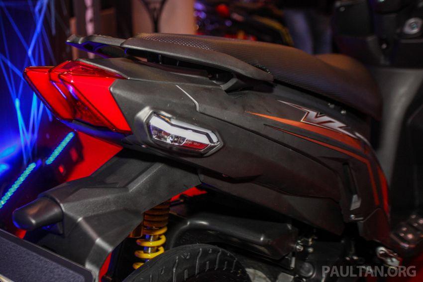 Benelli VZ125i dilancar – Malaysia jadi negara pertama terima skuter 124 cc EFI jenama itu, harga dari RM5.3k Image #859314