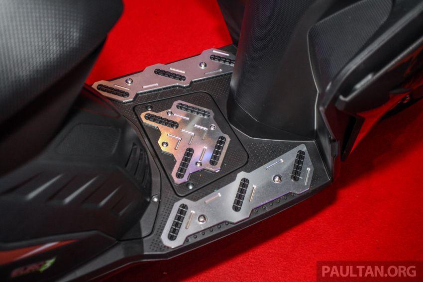 Benelli VZ125i dilancar – Malaysia jadi negara pertama terima skuter 124 cc EFI jenama itu, harga dari RM5.3k Image #859317