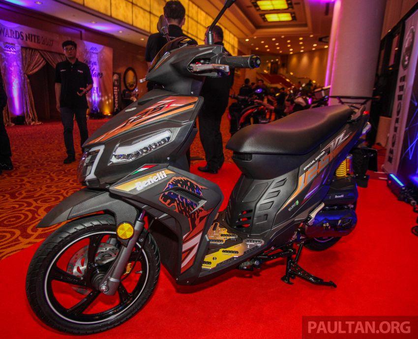 Benelli VZ125i dilancar – Malaysia jadi negara pertama terima skuter 124 cc EFI jenama itu, harga dari RM5.3k Image #859306
