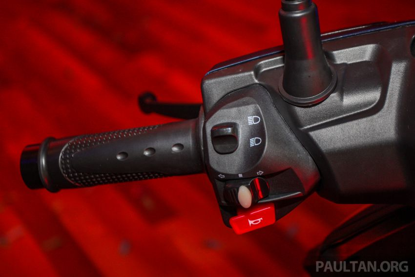 Benelli VZ125i dilancar – Malaysia jadi negara pertama terima skuter 124 cc EFI jenama itu, harga dari RM5.3k Image #859263