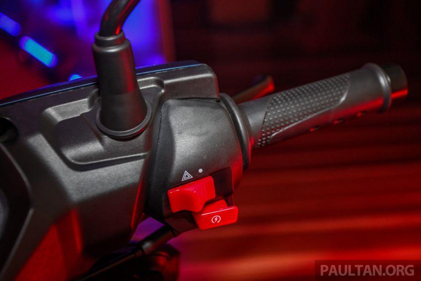 Benelli VZ125i dilancar – Malaysia jadi negara pertama terima skuter 124 cc EFI jenama itu, harga dari RM5.3k Image #859264