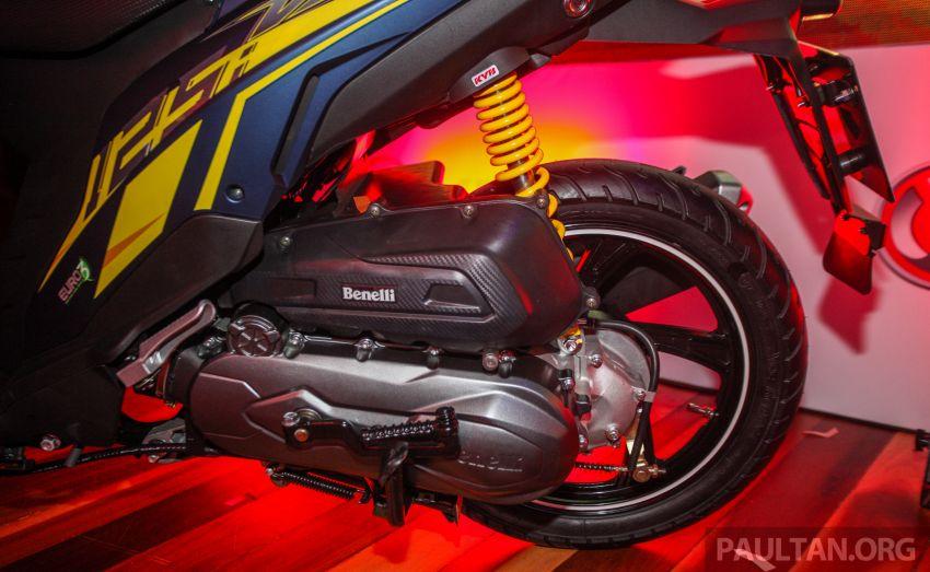 Benelli VZ125i dilancar – Malaysia jadi negara pertama terima skuter 124 cc EFI jenama itu, harga dari RM5.3k Image #859266