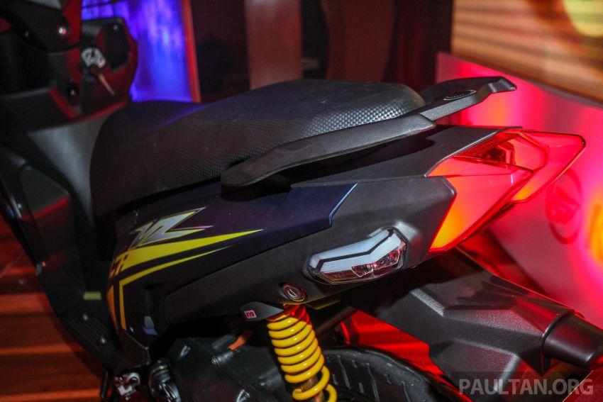 Benelli VZ125i dilancar – Malaysia jadi negara pertama terima skuter 124 cc EFI jenama itu, harga dari RM5.3k Image #859267