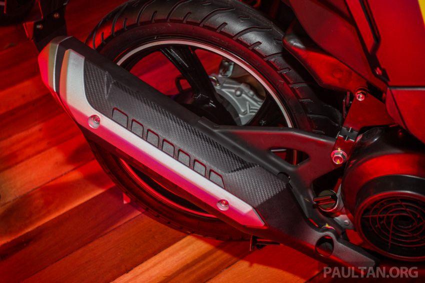 Benelli VZ125i dilancar – Malaysia jadi negara pertama terima skuter 124 cc EFI jenama itu, harga dari RM5.3k Image #859274