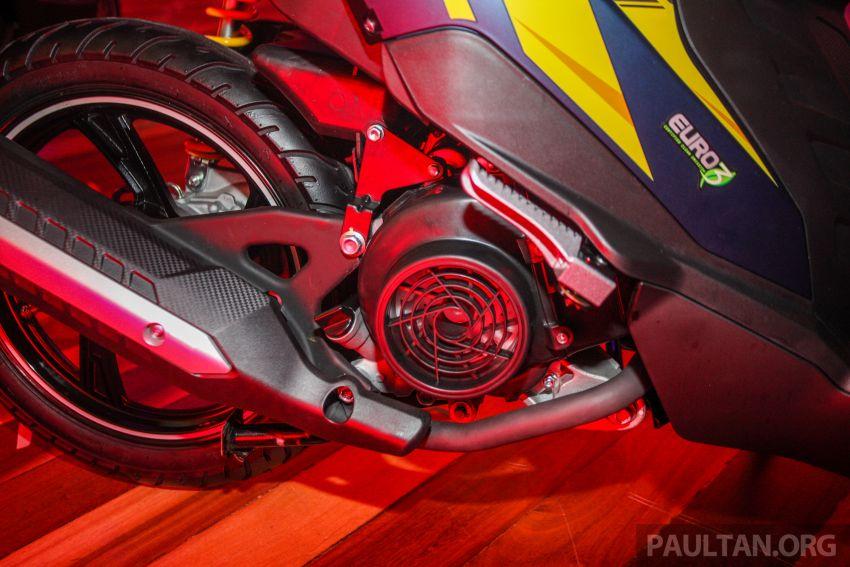 Benelli VZ125i dilancar – Malaysia jadi negara pertama terima skuter 124 cc EFI jenama itu, harga dari RM5.3k Image #859276