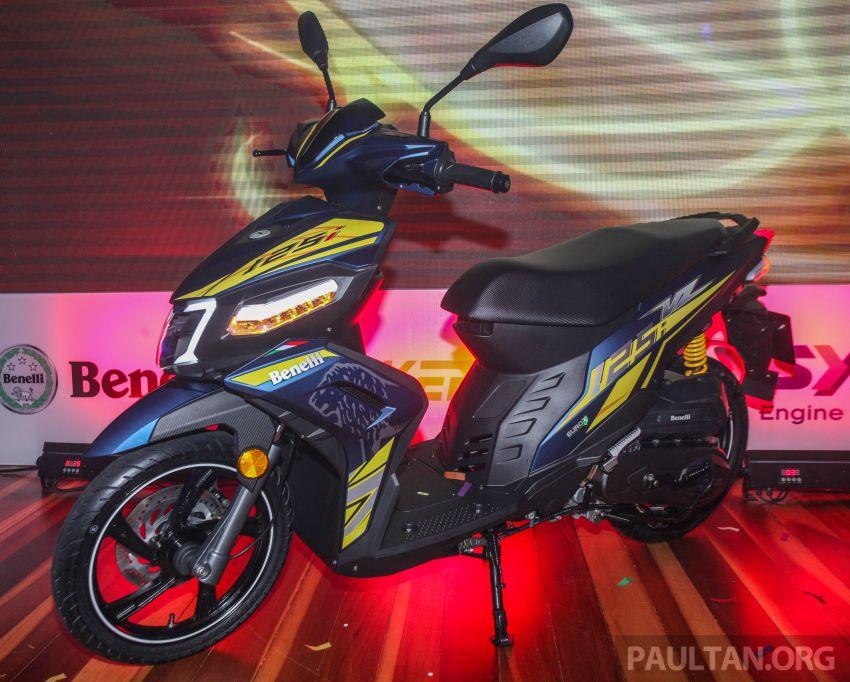 Benelli VZ125i dilancar – Malaysia jadi negara pertama terima skuter 124 cc EFI jenama itu, harga dari RM5.3k Image #859255